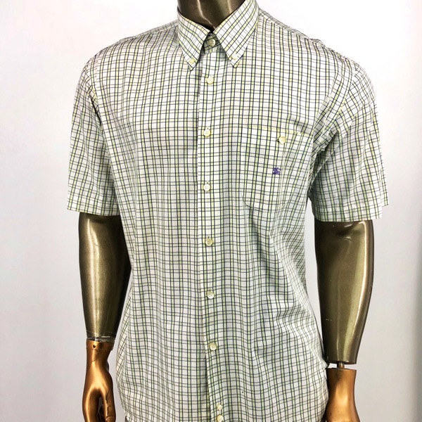 Burberry London Shirt Short Sleeeve Xl / Xxl