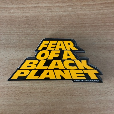 X3 Supreme Fear Of A Black Planet Stickers