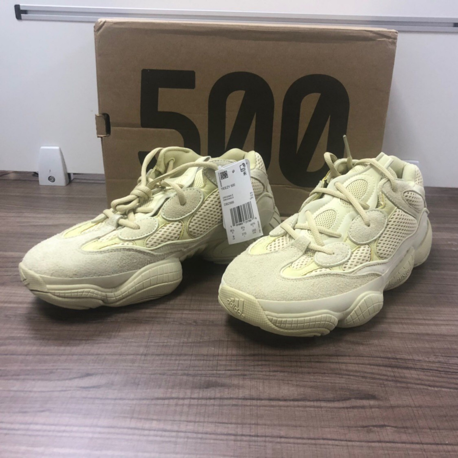 purchase cheap afcc5 3ebc6 Adidas Yeezy 500 Super Moon Yellow