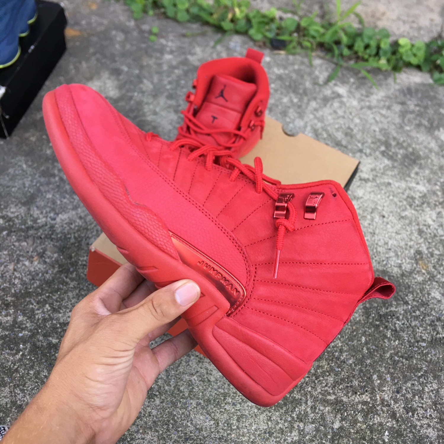 new styles 6a235 945ca Gym Red Jordan 12 Size 10 Og All