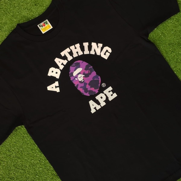 Bape Colour Camo College Tee