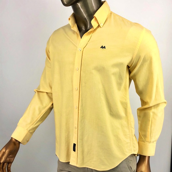 Burberry Tb Shirt Yellow M
