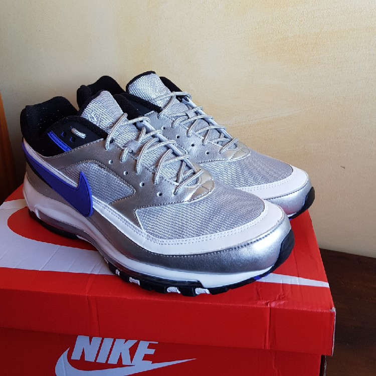 sports shoes 82927 8774d Air Max 97/BW metallic silver persian violet
