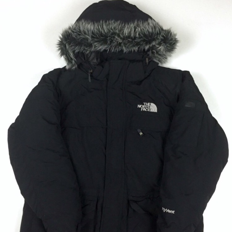 TNF Face HyVent Down Filled Parka Black