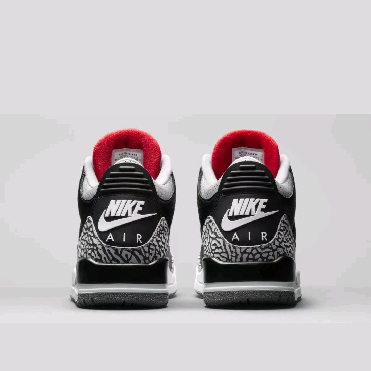 super popular 813a1 2acf8 Nike Air Jordan 3 OG Black Cement Grey 2018 Retro 854262-001 88 AUTHENTIC