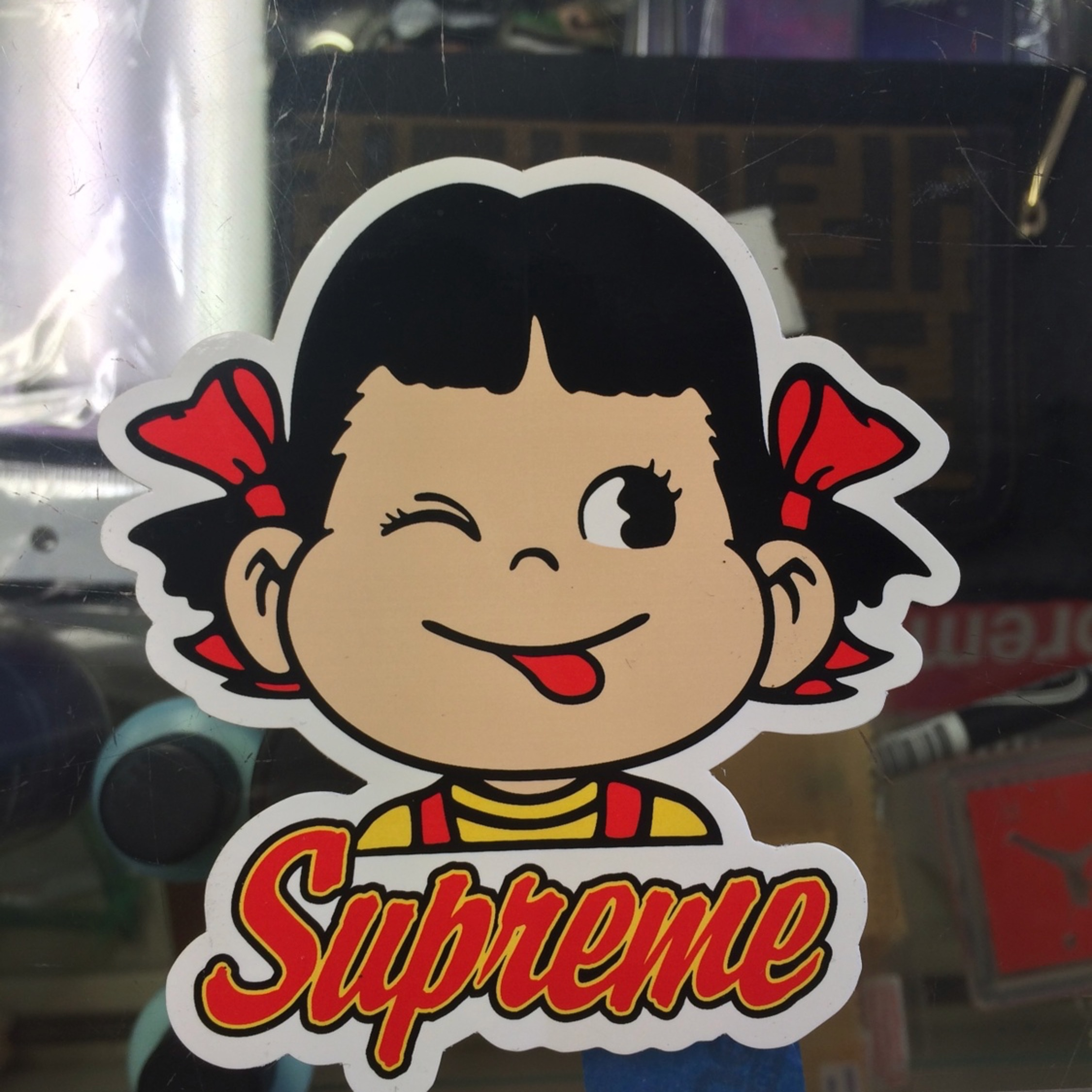 Supreme 2015 Candy Sticker New