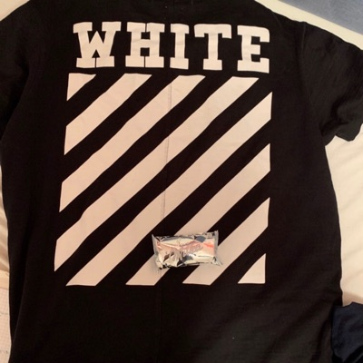 Off White Tee ( Travis Scott Jordan , Supreme X