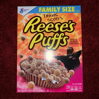 Travis Scott's Reeses's Puffs Cereal