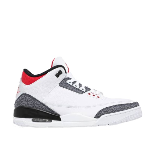 Jordan 3 Fire Red Denim