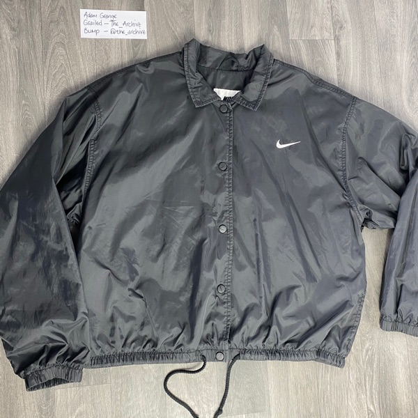 Nike Vintage Button Coach Jacket