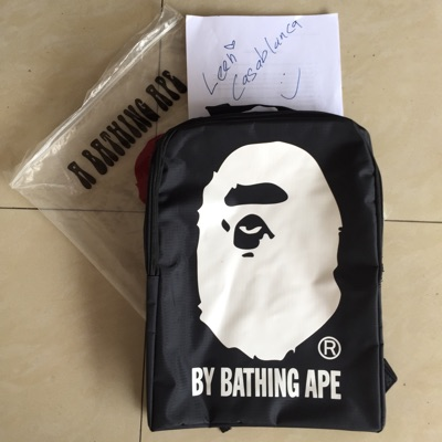 2015 A/W Japan Mag Collection Bape Nylon Backpack