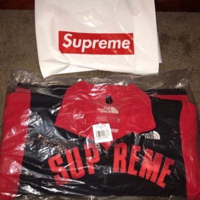 Supreme X North Face Arc Logo Denali Fleece Jacket