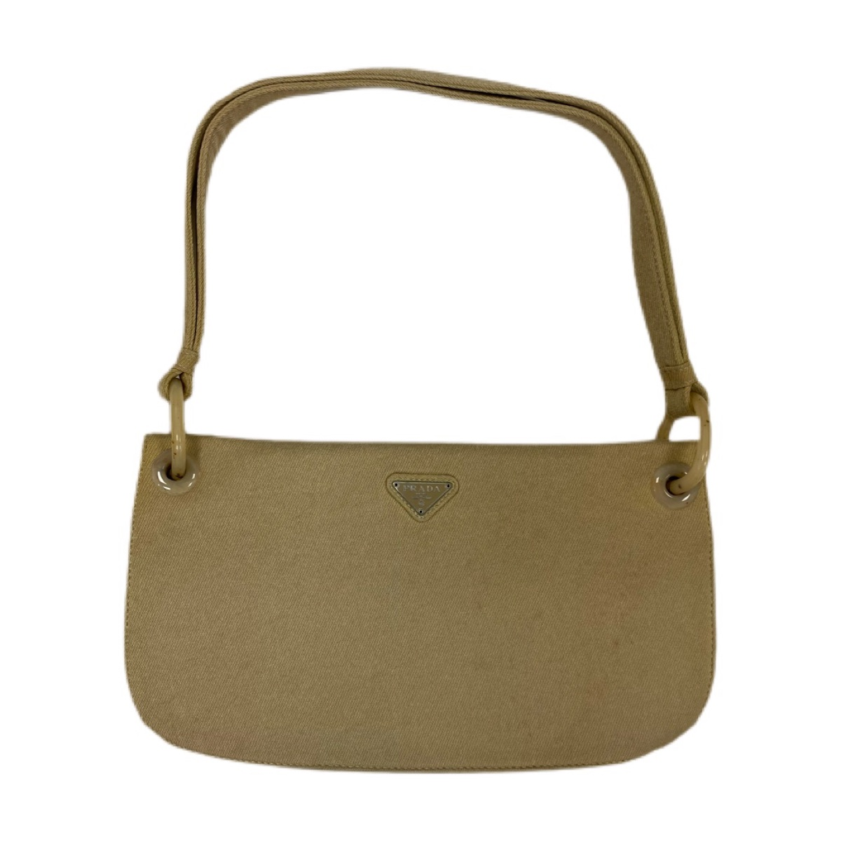 Authentic prada vintage beige hand / shoulder bag
