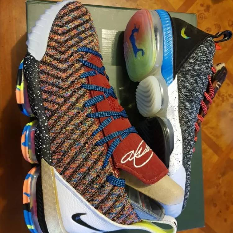 huge selection of 8ed14 7a4fc Nike lebron xvi lmtd 16 what the