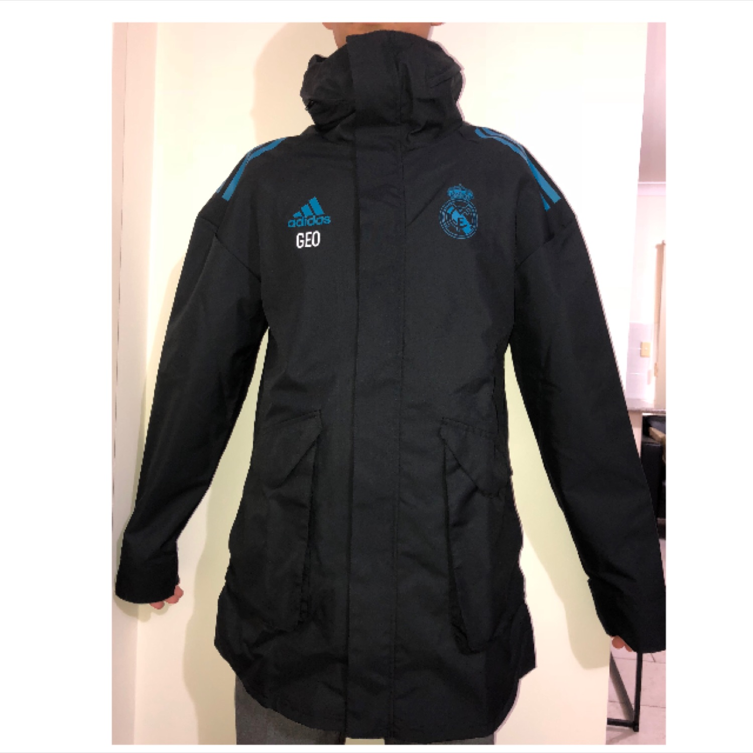 Real Madrid AdidasUcl All Weather Jacket 172018