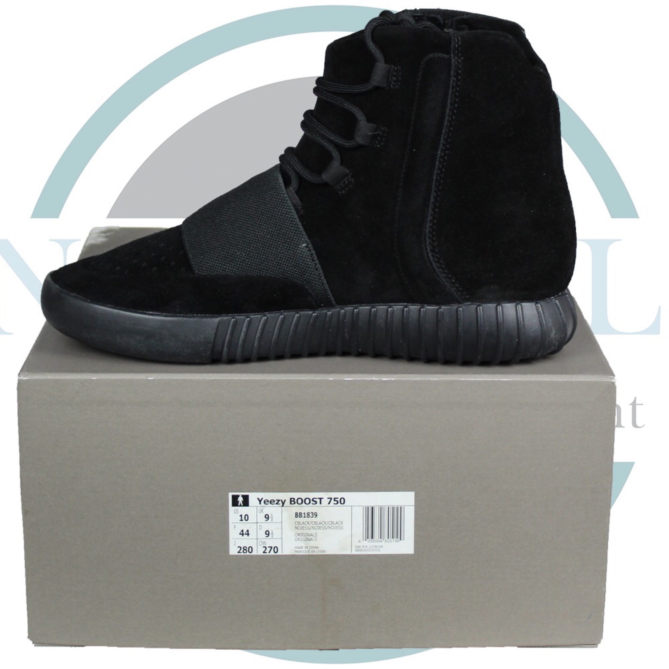 new product a7df3 5a519 Adidas Yeezy Boost 750 Triple Black