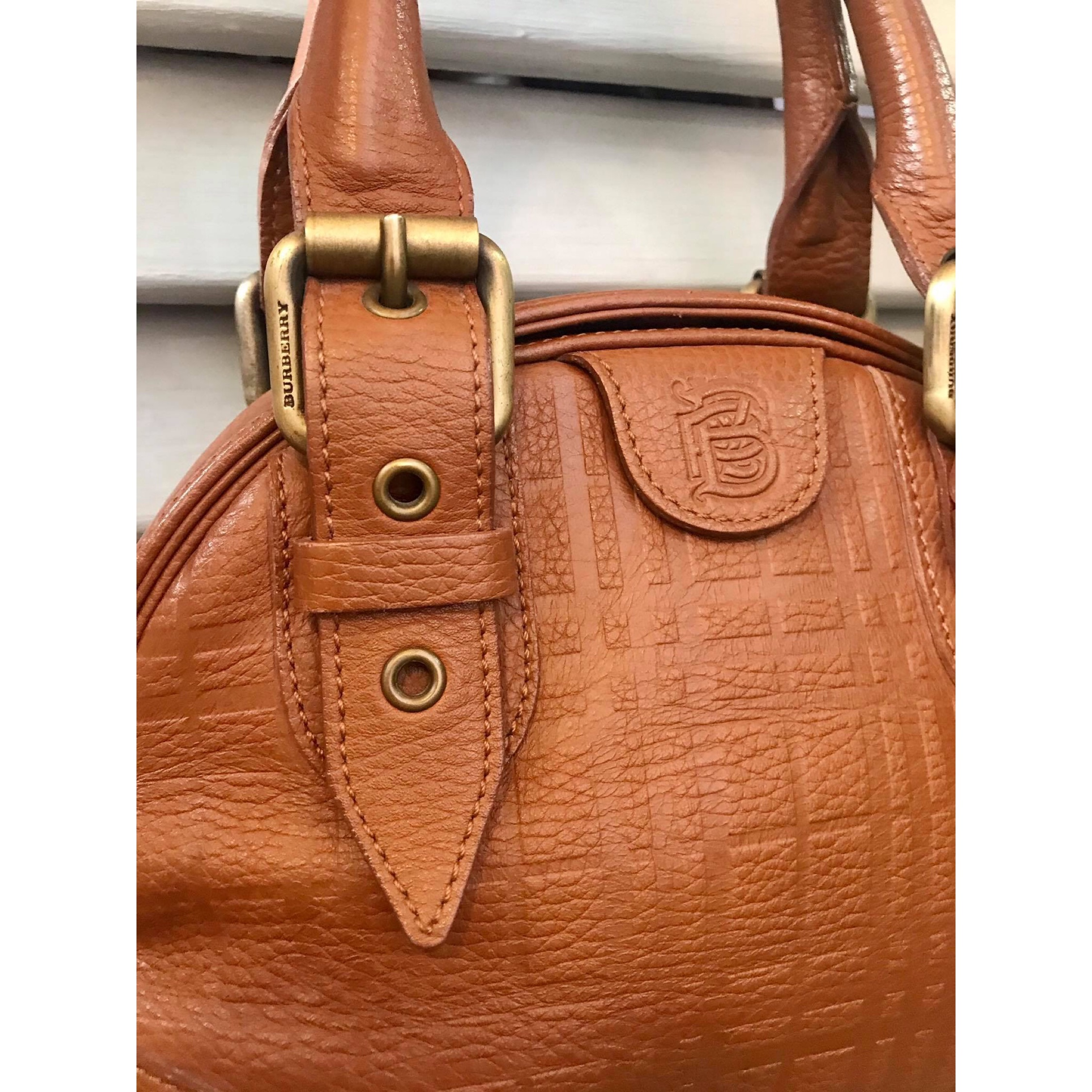 Burberry Classic Leather Carry All