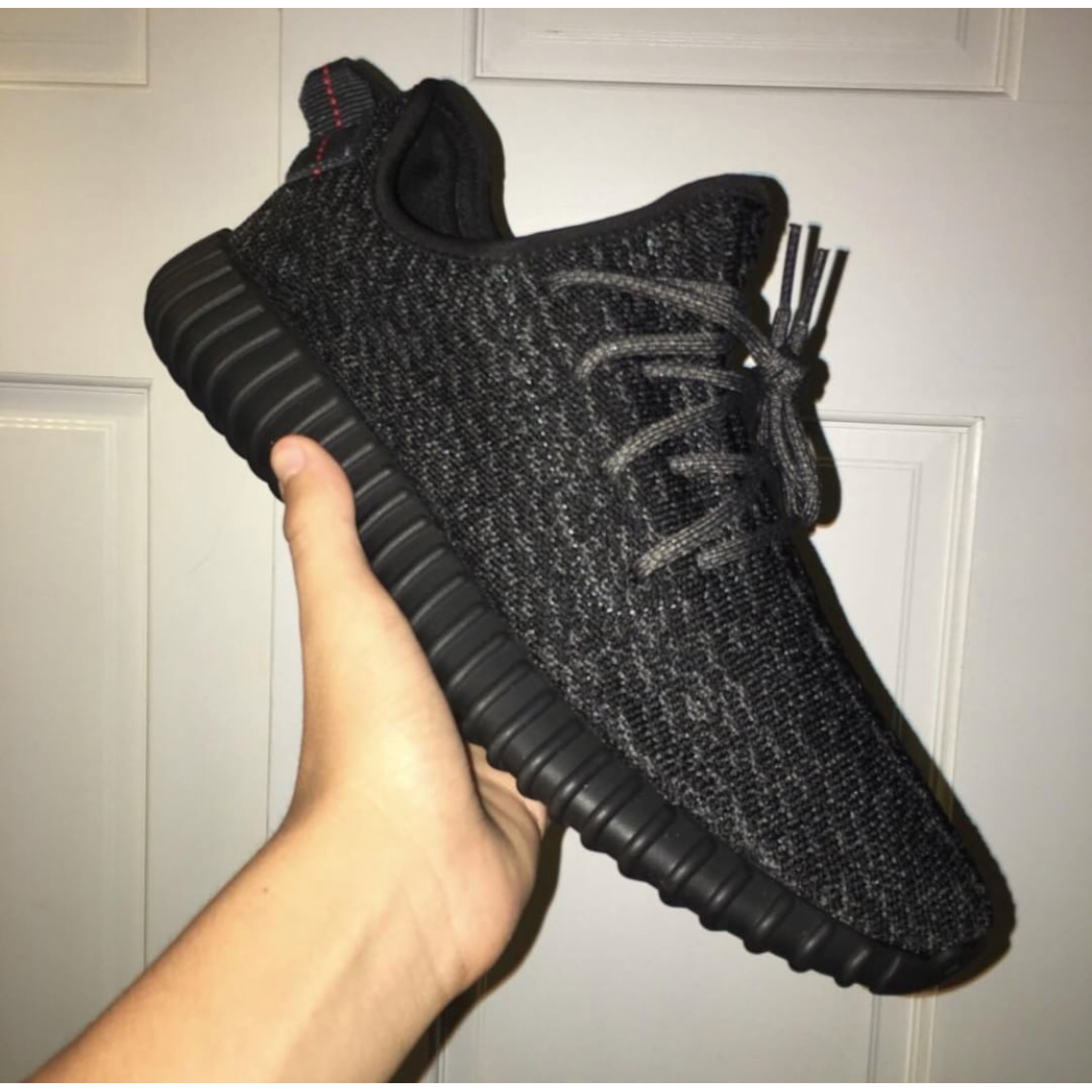 sale retailer 53972 b52f7 Yeezy Boost 350 Pirate Black