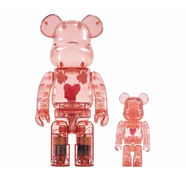 Bearbrick X Emotionally Unavailable Red
