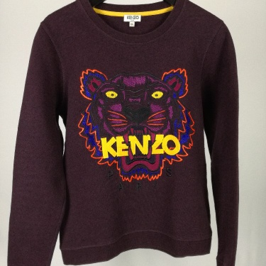 Women's Kenzo Paris Sweater Jumper Pullover Size M