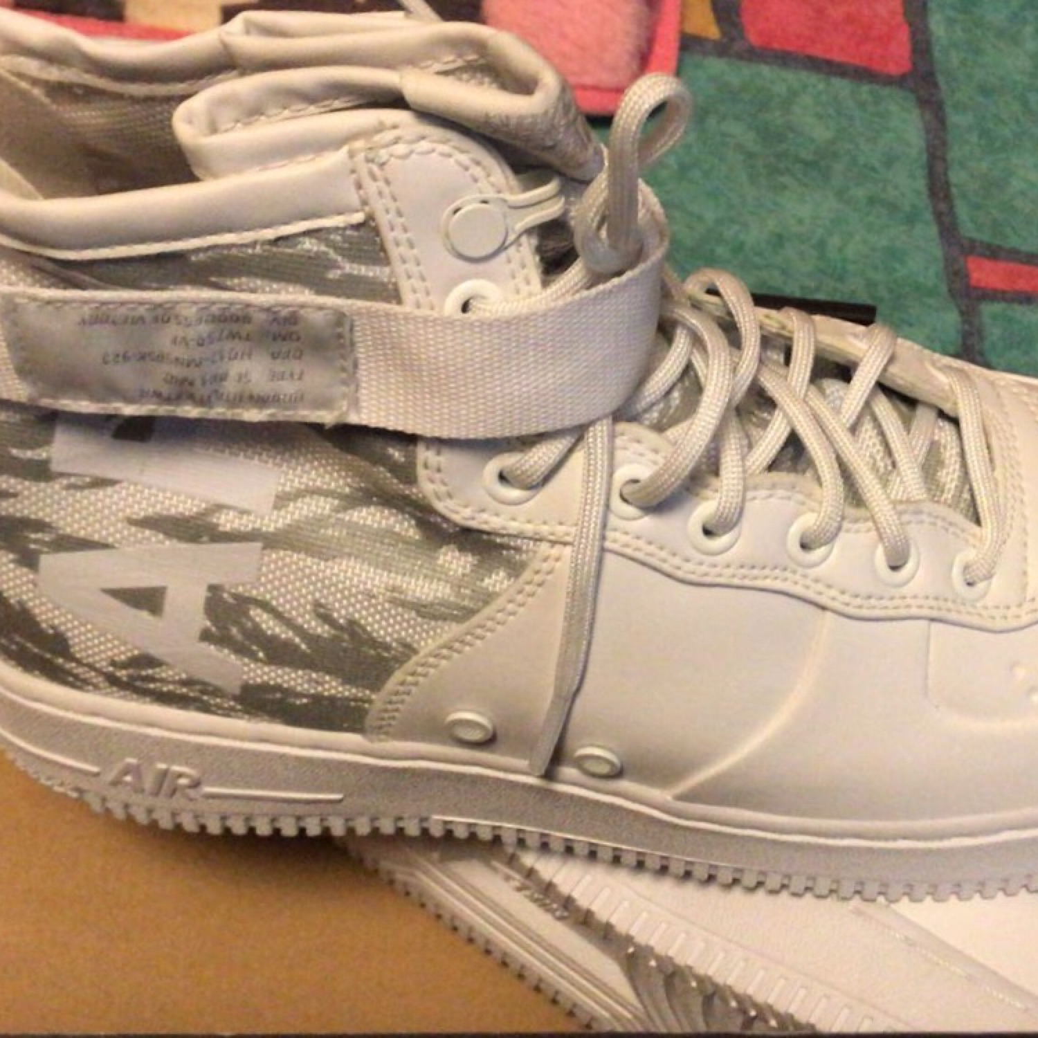 the best attitude b76ea cb9aa Nike Sf Air Force 1 Mid Winter Sneakers
