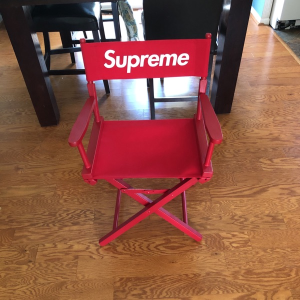 Red Supreme Directors Chair