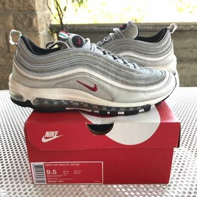 Nike Air Max 97 Silver Lasilver Italy Exclusive