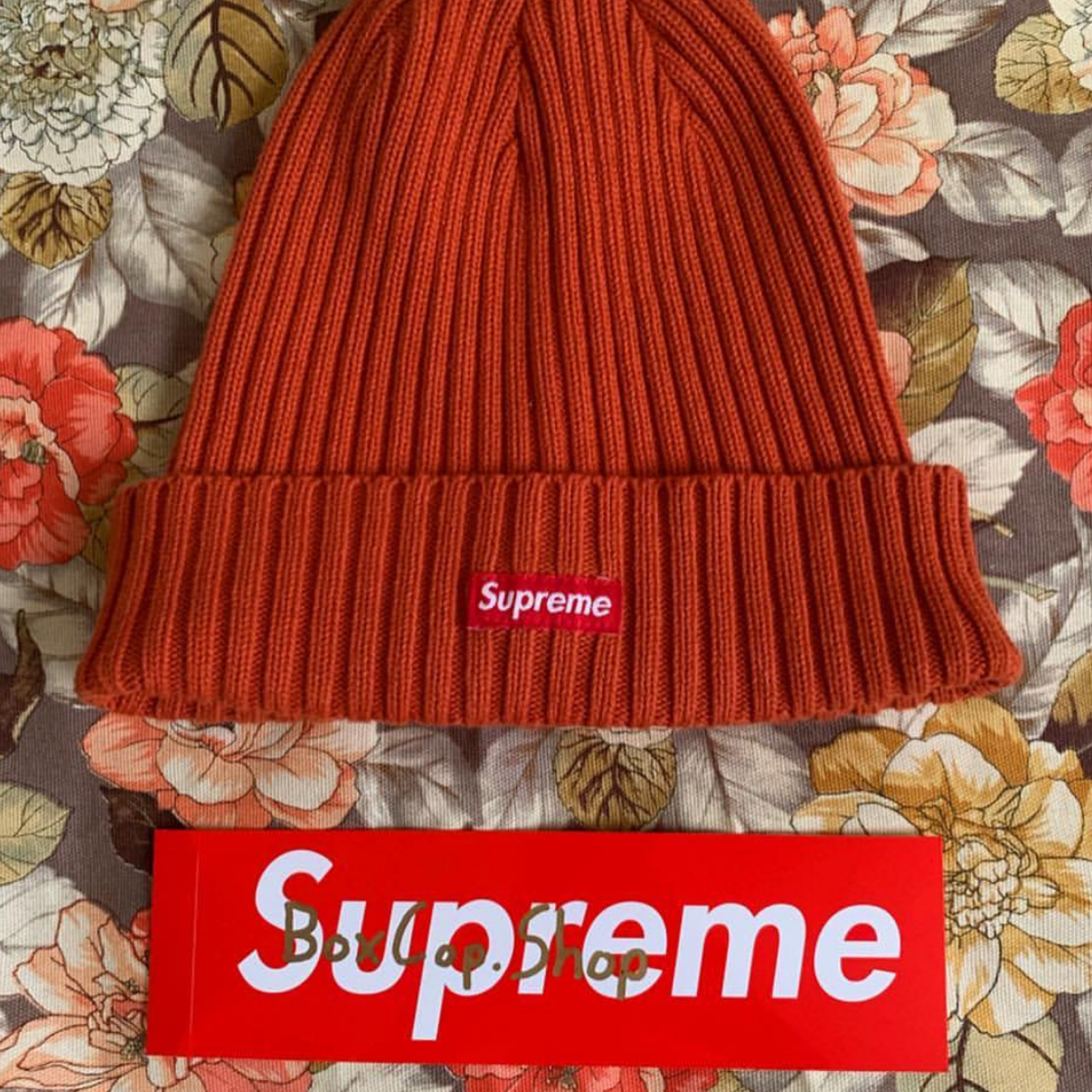 e70b4af42 Supreme Rust Overdyed Beanie (2019)