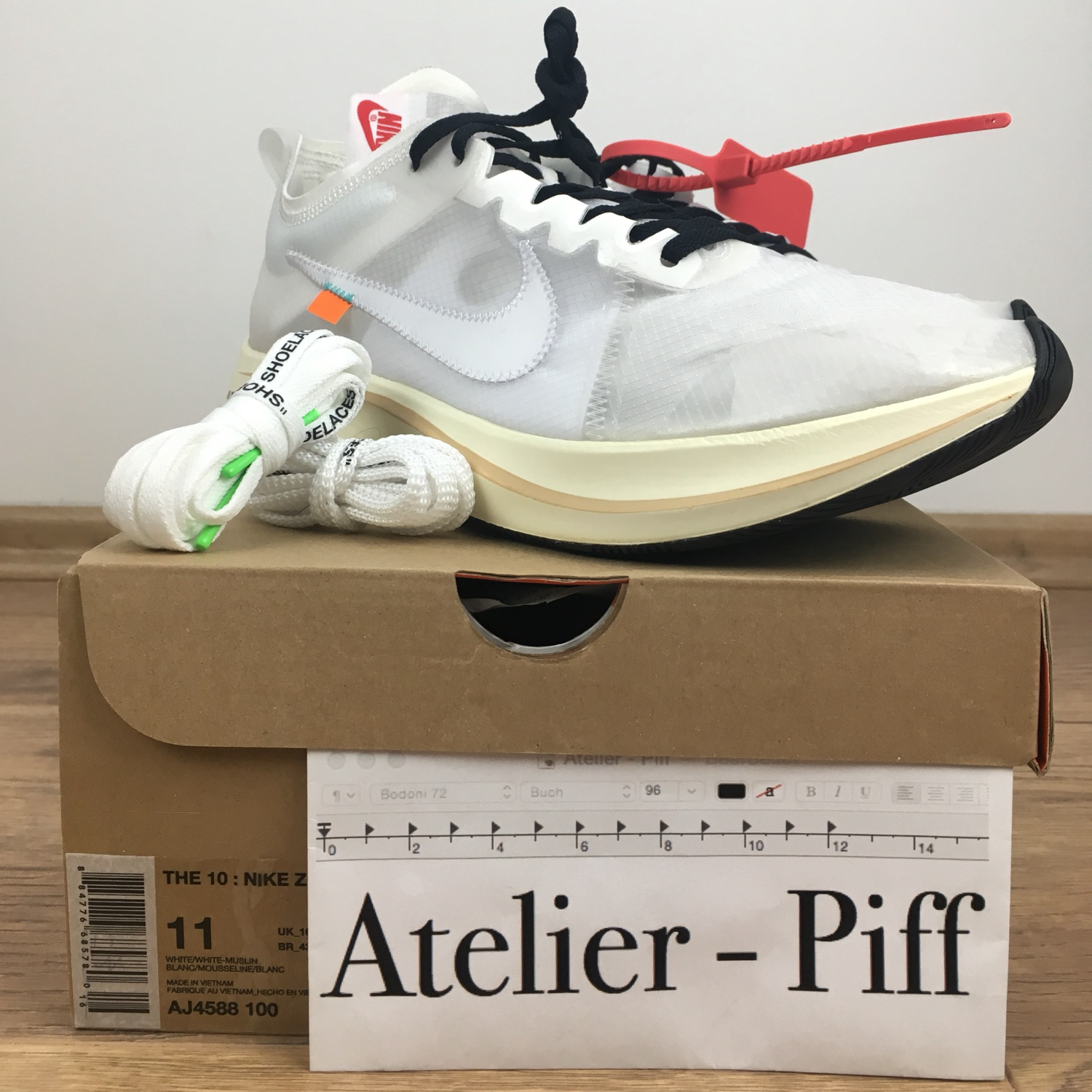 online store 6f193 693ab Nike   Off White Zoom Fly - Us11 - Brand New -