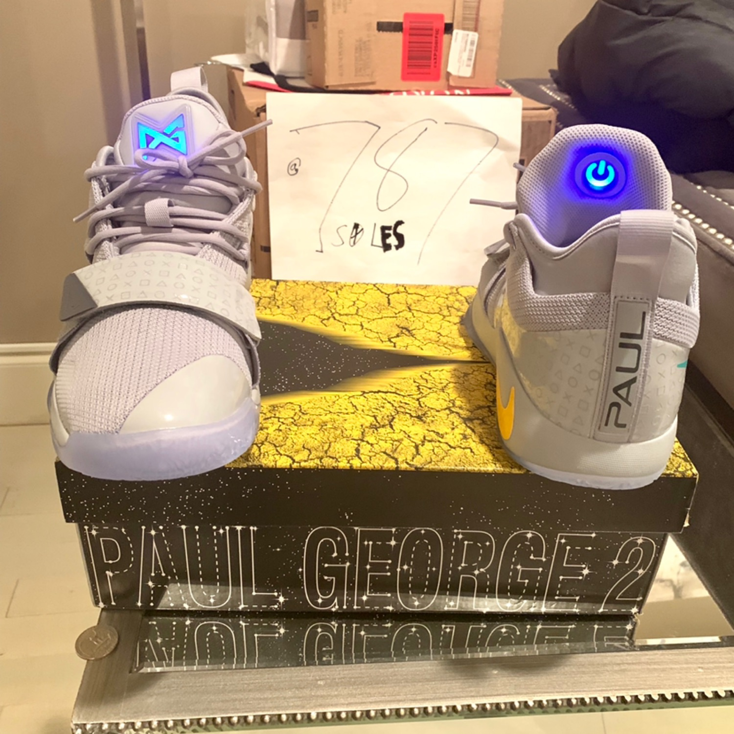 sale retailer 7747e 42b6d Ds Nike Paul George2.5 Playstation Shoes Trade/Buy