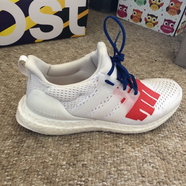 Adidas X Undefeated Ultra Boost Uk8.5