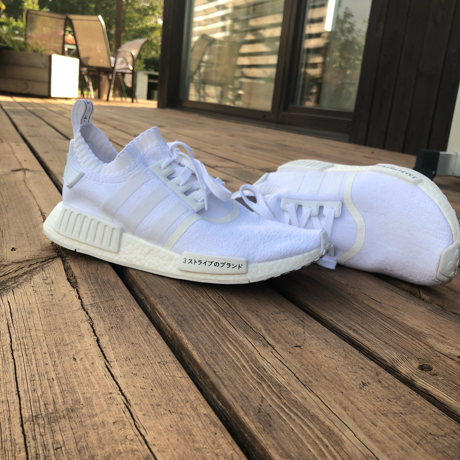 Nmd R1 Triple White Japan Boost NWT