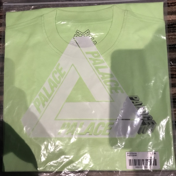 Palace P-3D T-Shirt In Fluro(Yellow) Size Small