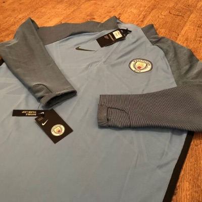 Nike Manchester City Football Training Top Xxl