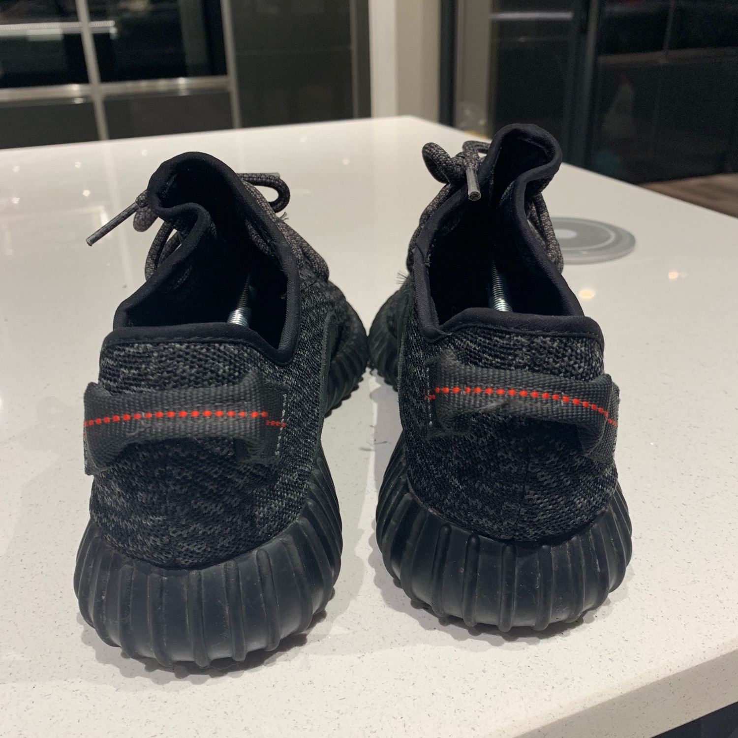 Yeezy Boost 350 V1 Pirate Black Us 10.5 Uk 10