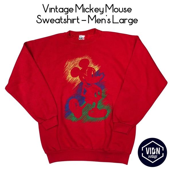 Vintage Mickey Mouse Sweatshirt