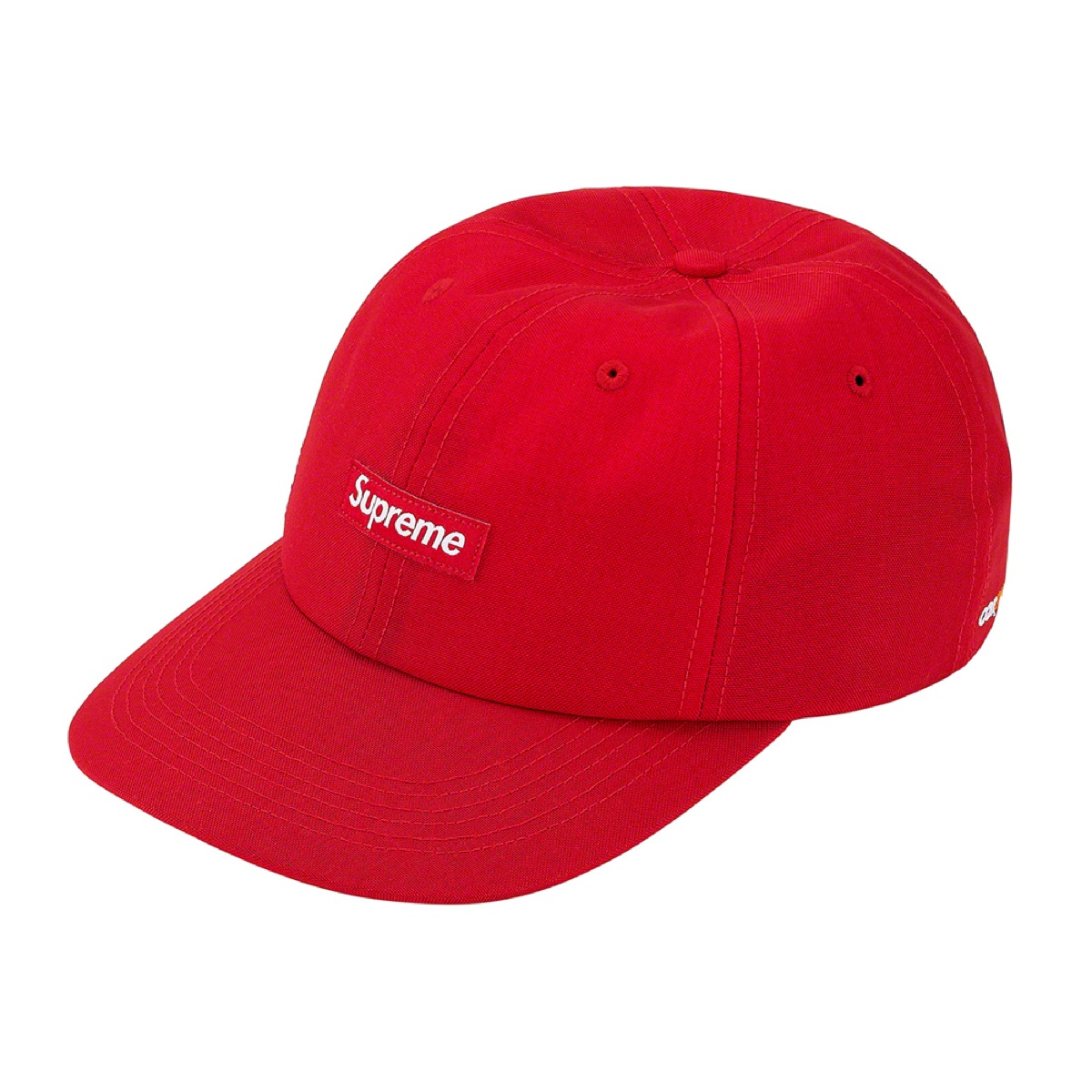 Supreme Cordura Small Box 6-Panel Red