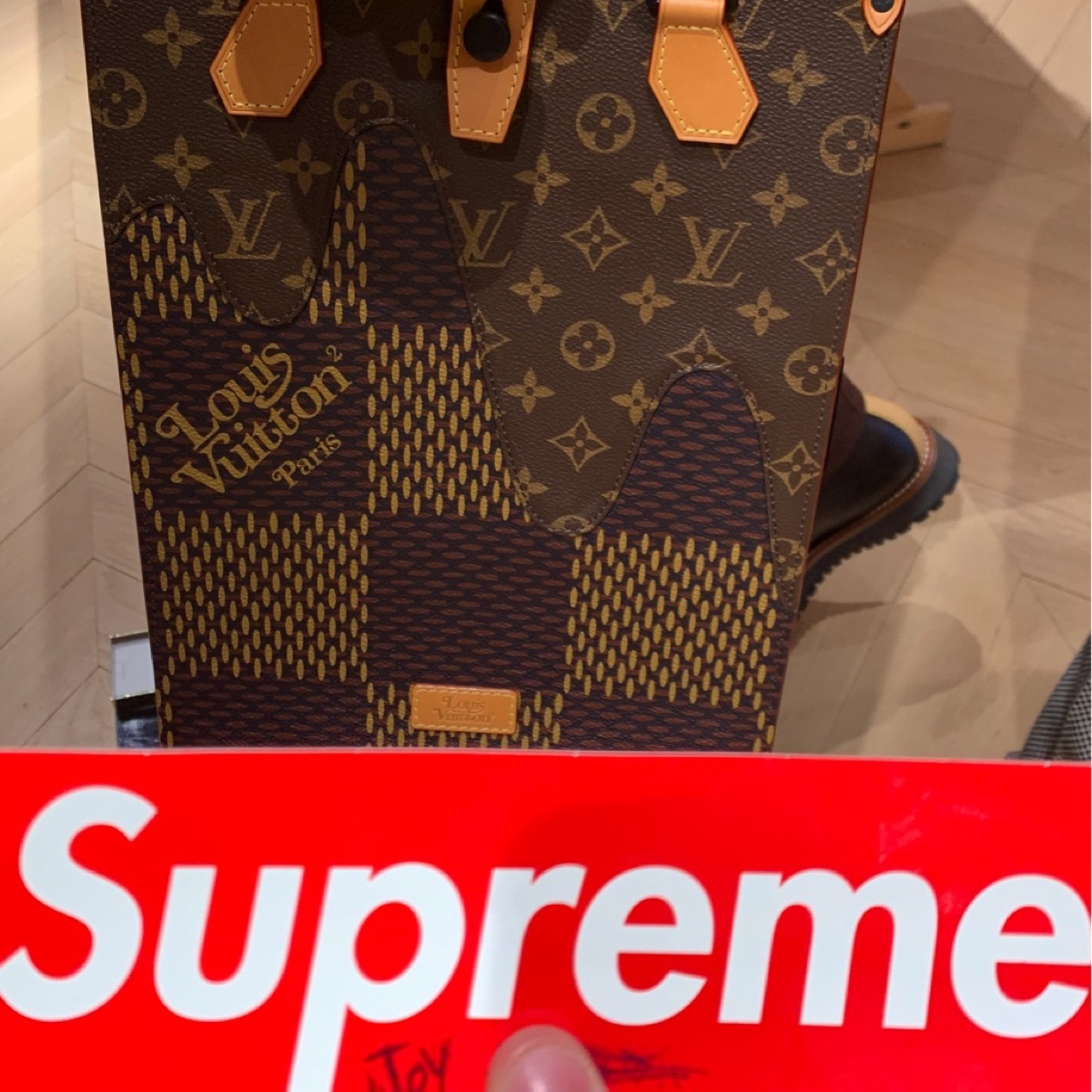 Louis Vuitton x Nigo Bag tote mini