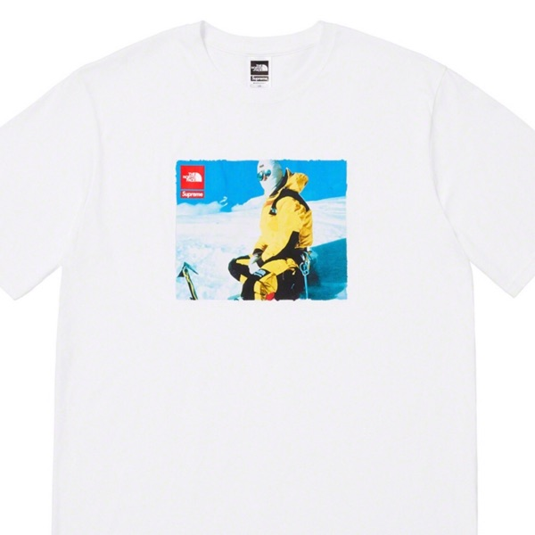 Supreme The North Face| Photo Tee White