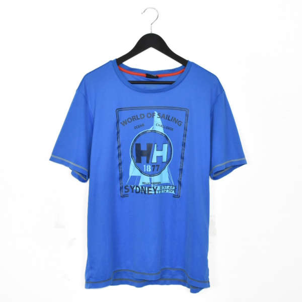 Vintage Helly Hansen t-shirt tee blouse top in blhe