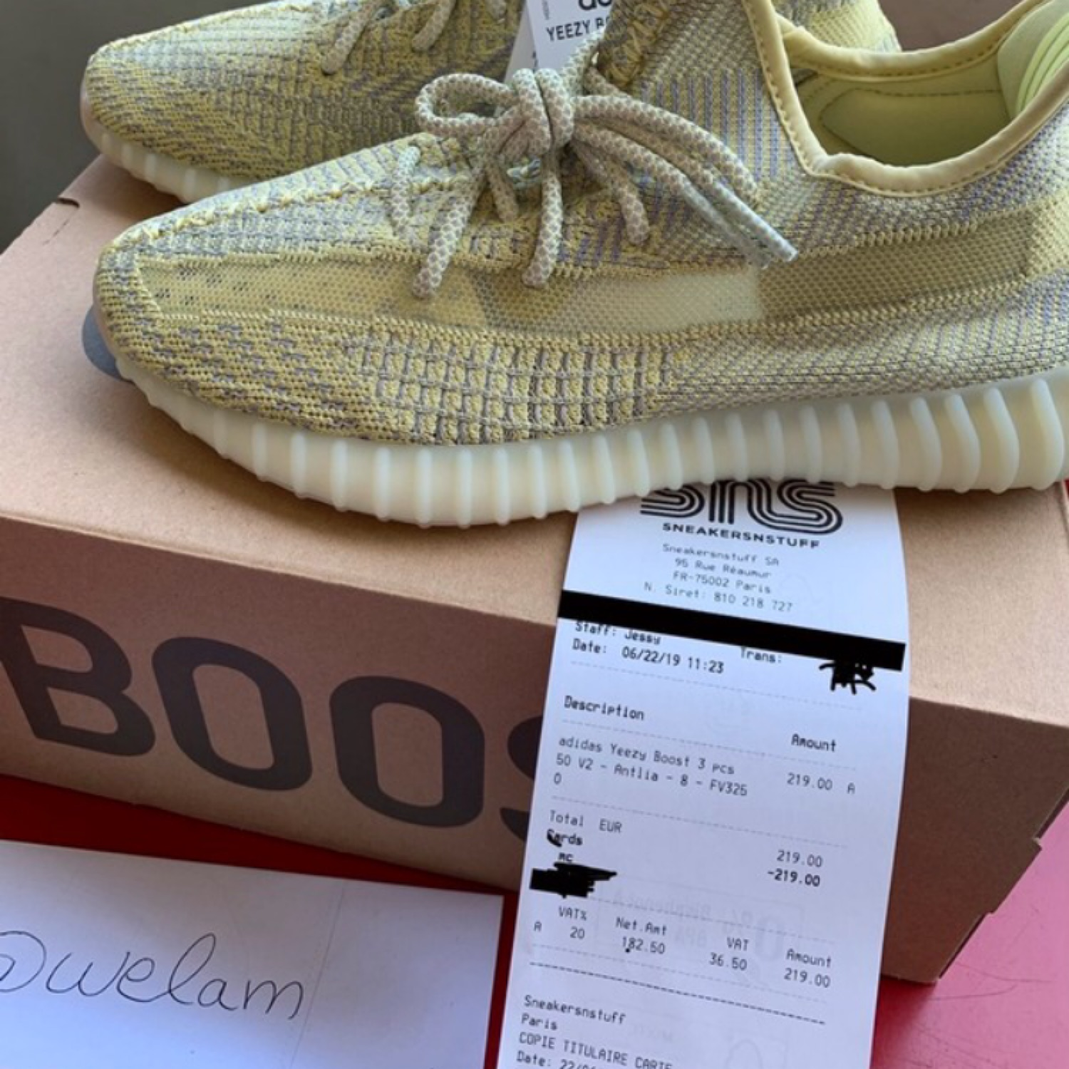 OFFICIAL ANNOUNCEMENT YEEZY BOOST 350