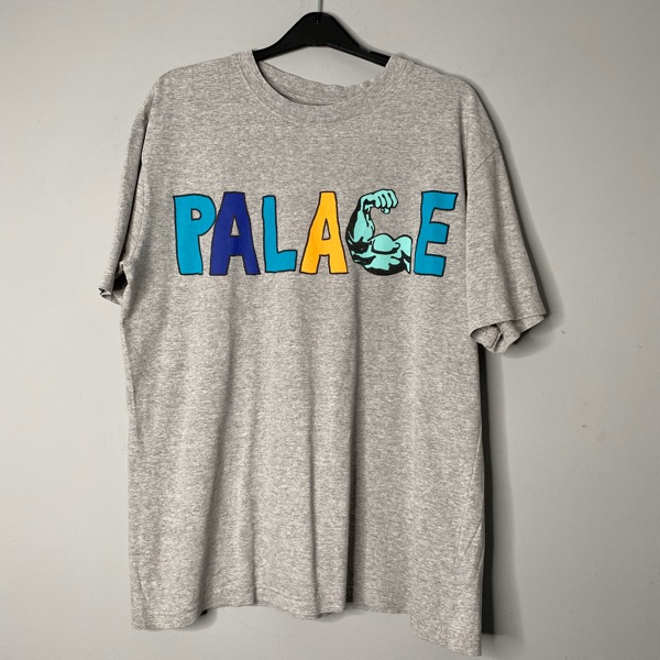 Palace Muscle Tee Grey