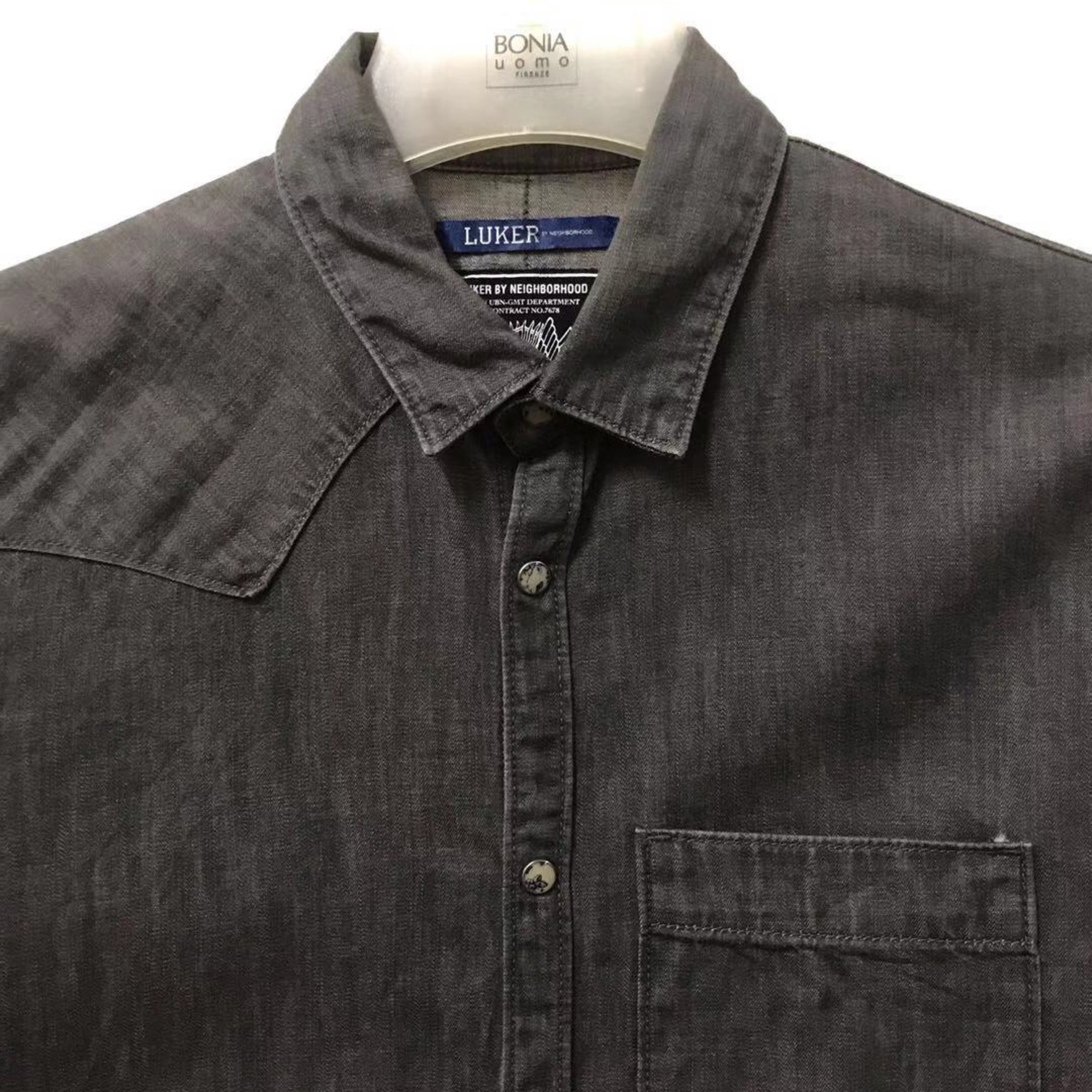 Luker By Neighborhood Pearl Snap Button Shirt