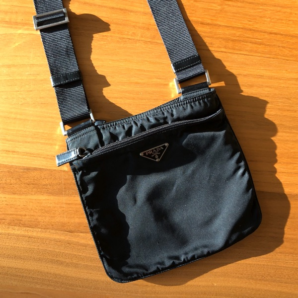Prada Messenger Bag Black