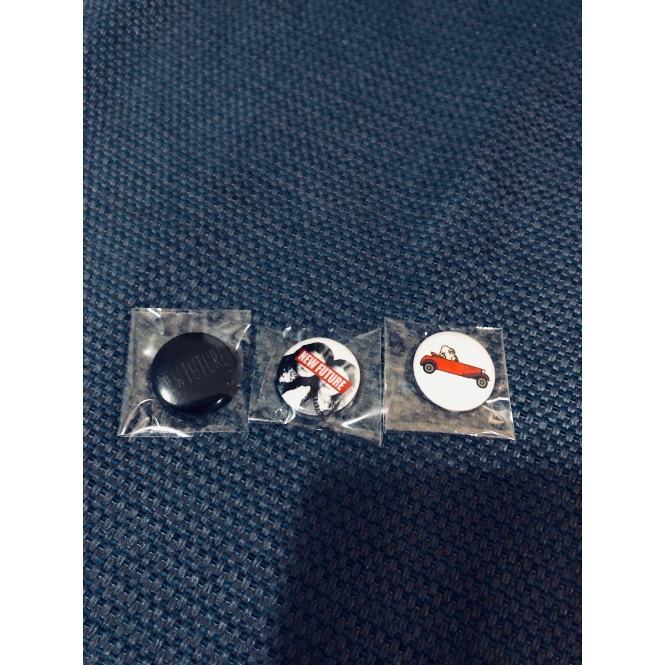 Undercover New Future 3 Badges Set Limited Edition