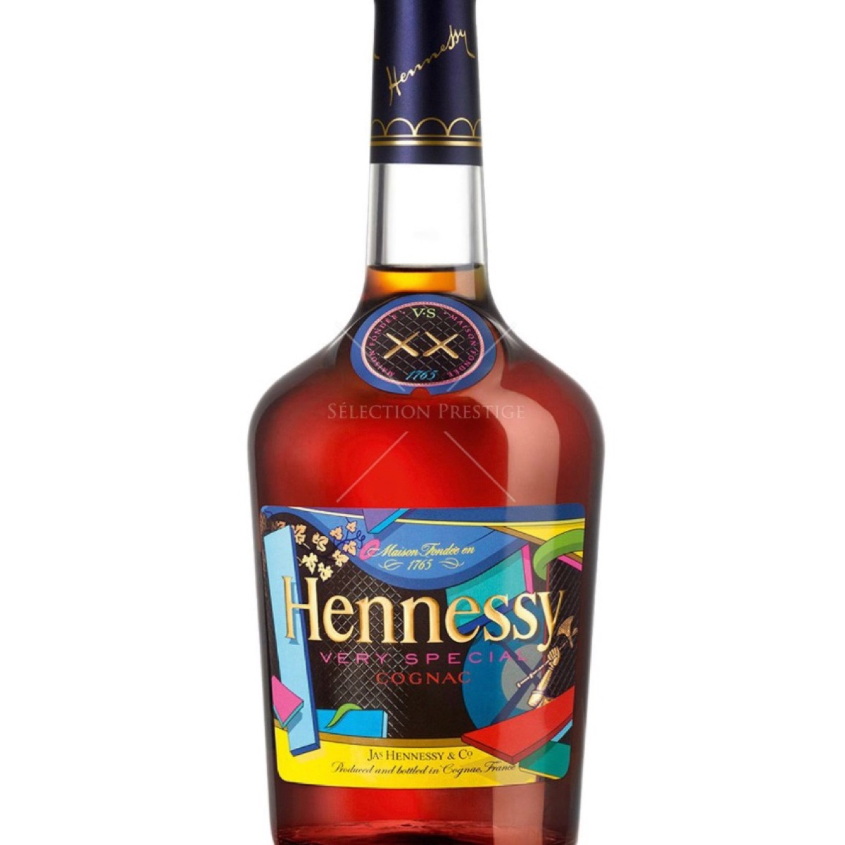 Kaws Hennessy limited edition