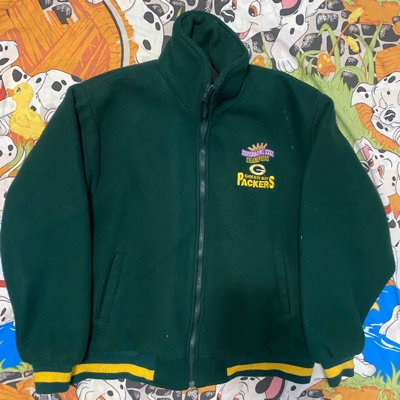 Green Bay Packers Super Bowl 31 Xxxi Zip Up Jacket
