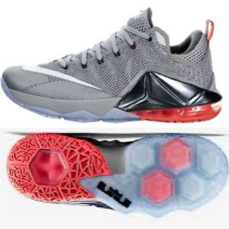 half off db840 59739 NEW NIKE LEBRON JAMES XII LOW SIZE : 8.5 US