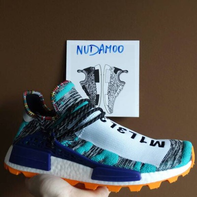 Adidas Nmd Hu Human Race Pharrell Solar Pack Orange Bb9528 Us 11