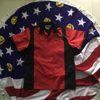 Vintage Bowling Shirt Cruisin Usa